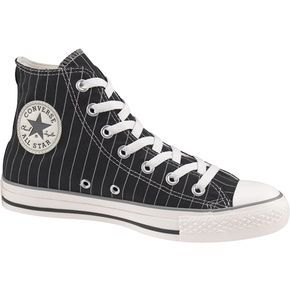 Pin stripe Converse. Reminds me of Footloose. | Converse