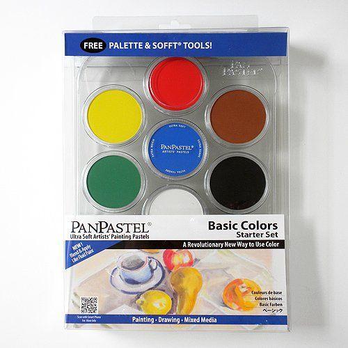 Panpastel 7 Color Basic Foundation Color Set Foundation Colors