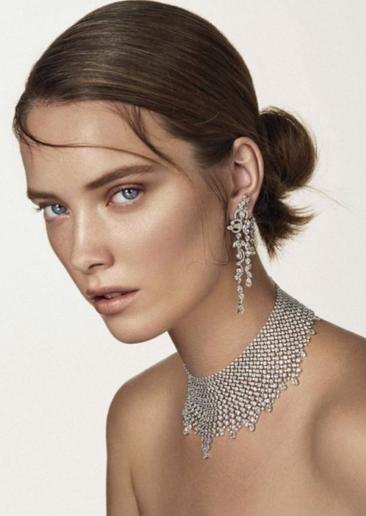Photo of Mildred Gustafsson Sparkles in Gems for Vanity Fair Italy