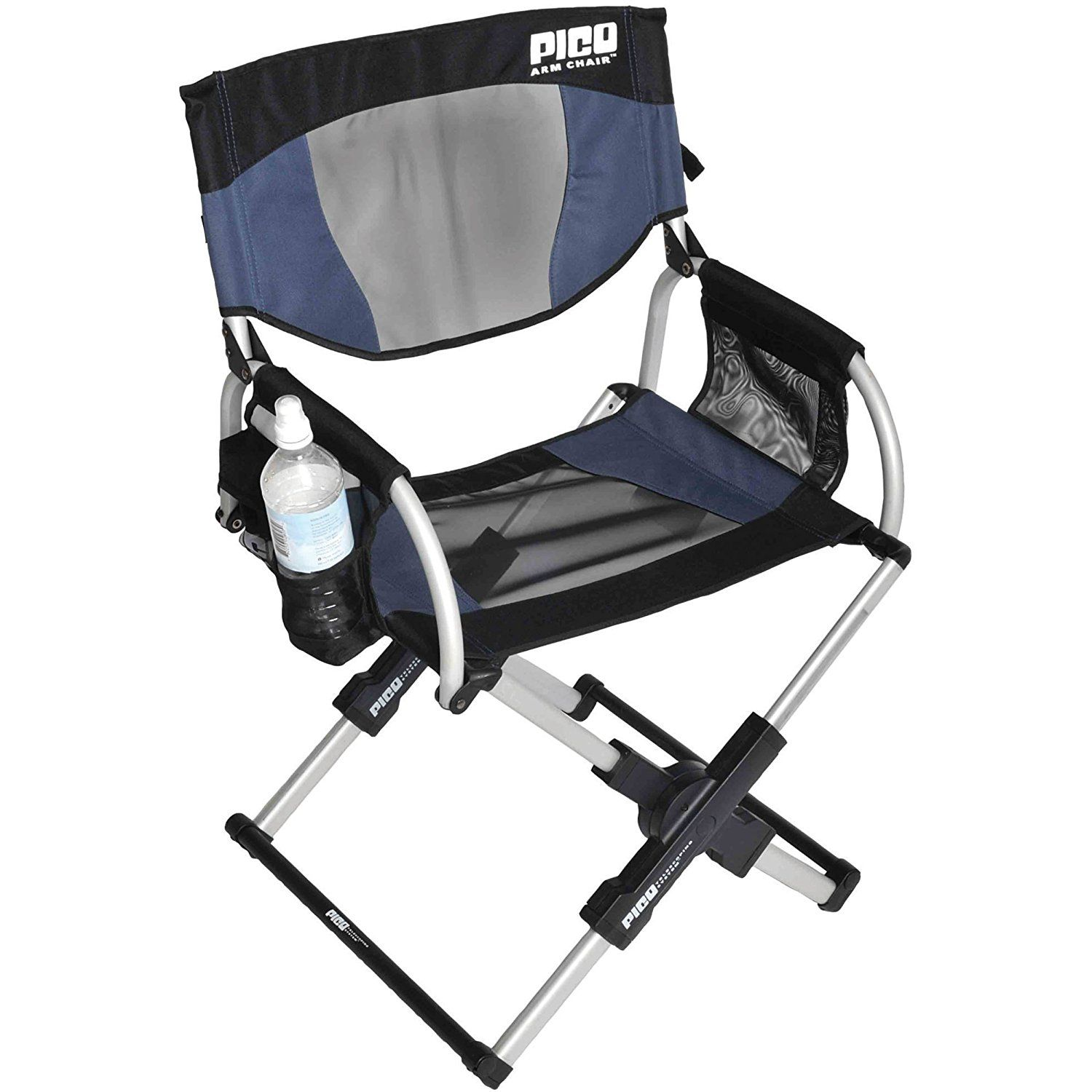 Amazon Com Gci Outdoor Pico Compact Folding Camp Chair With Carry Bag Navy Camping Chairs Comfortable Camping Chair Folding Camping Chairs Tailgate Chairs