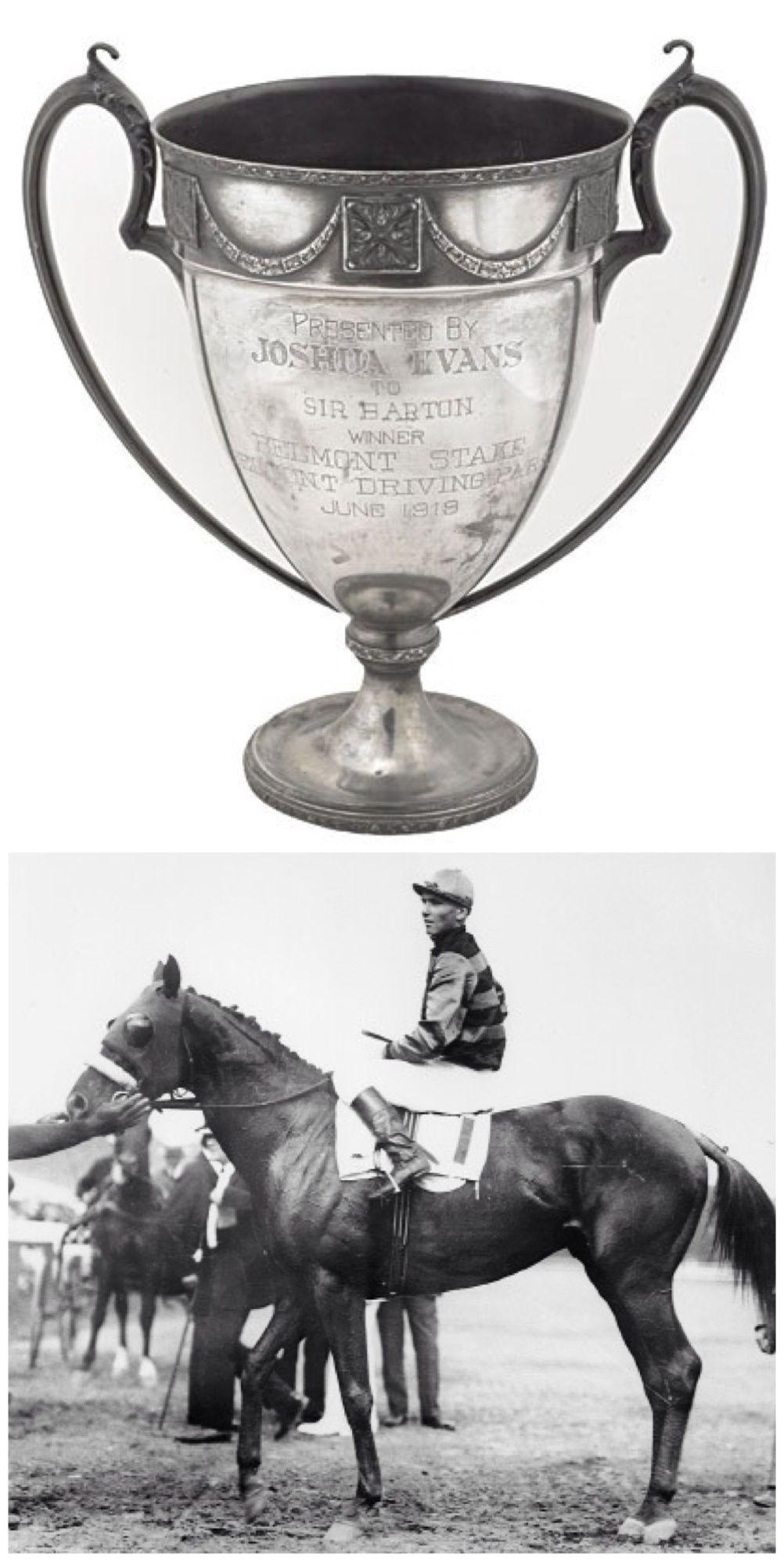 Sir Barton 1919, first Triple Crown winner \u0026 the Belmont Stakes ...