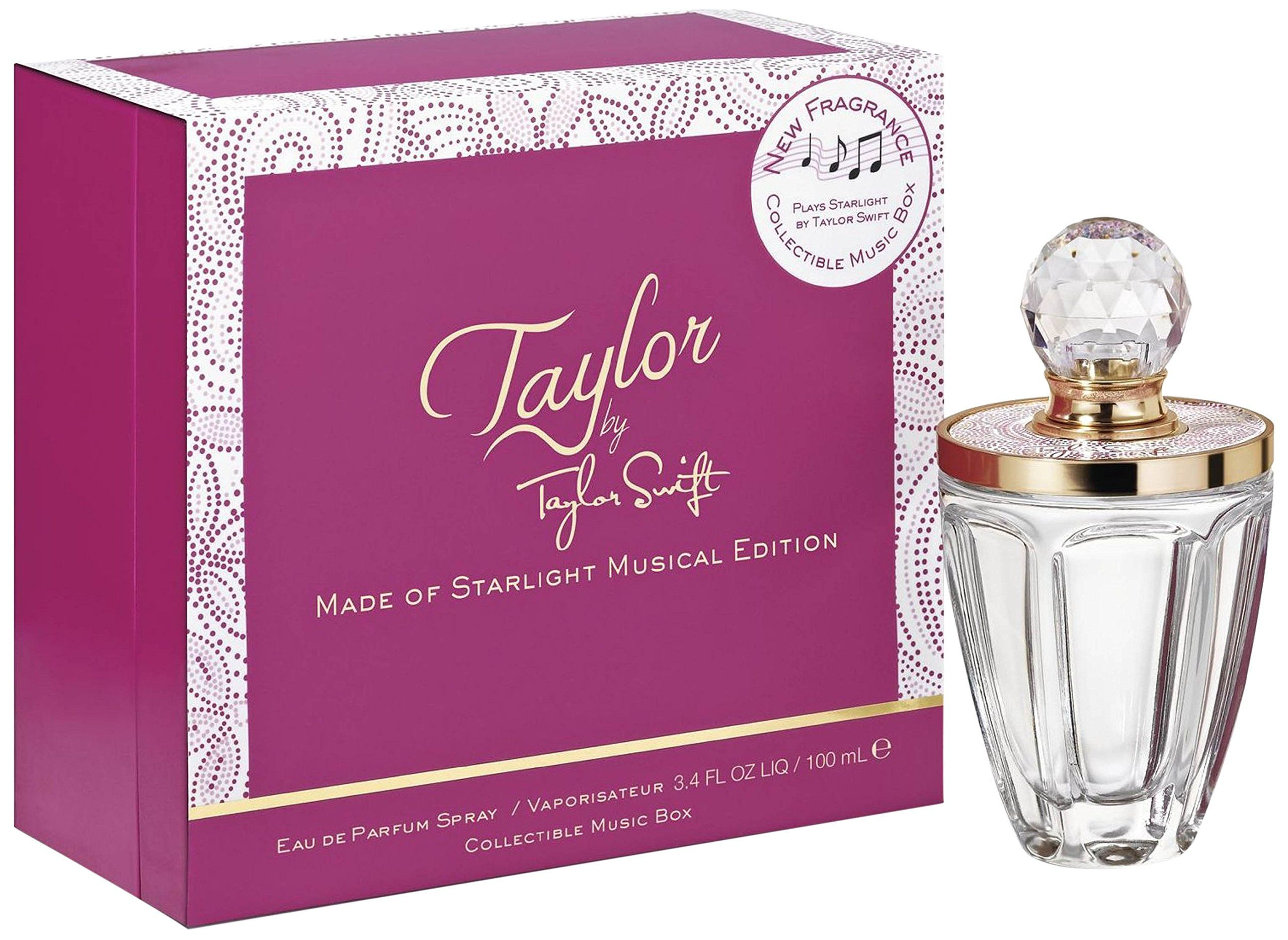 Taylor Swift Eau De Parfum Spray Collectable Music Box For Women Original Revlon Charlie Red Edt 100ml Free Vial By Made Of Starlight Musical Jewlery W 34 Fl Oz Perfume Read More At The Image Link