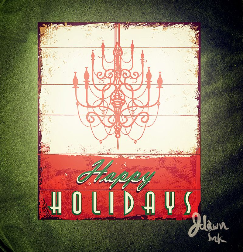 2014 Christmas card template designs by JDawnInk - available in vector format at http://www.istockphoto.com/vector/merry-christmas-vintage-wooden-painted-sign-design-44897374?st=4096e80