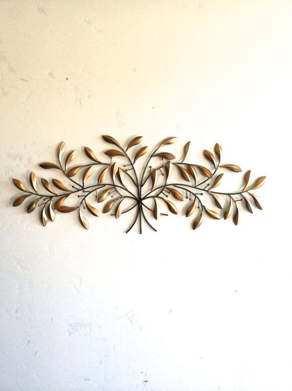 Leaf Wall Art Gold Metal Wall Art Gold Decor Leaf Home Decor Leaf Art Gold Leaves Wall Decor Metal Wall Decor Metal Leaf Decor Gold Gold Metal Wall Art Leaf Wall