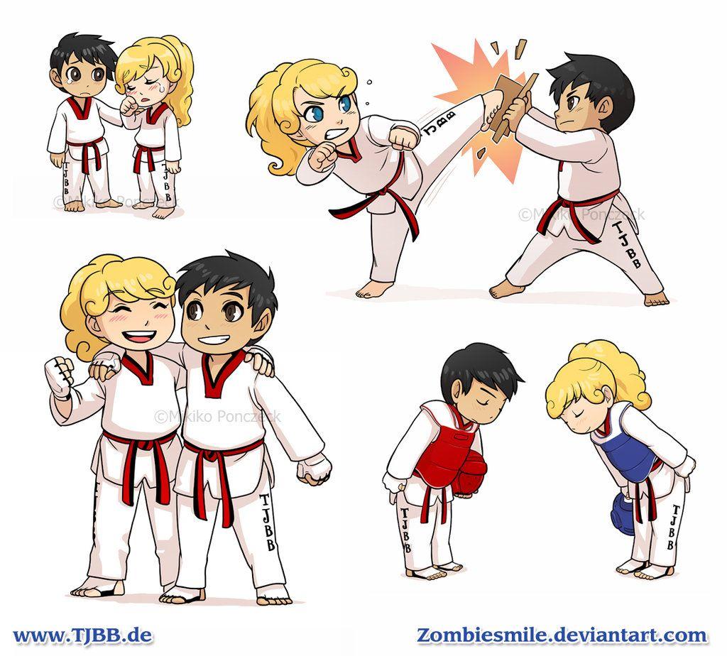 Exploring Character Design Pdf : Taekwondo compilation by zombiesmile viantart on