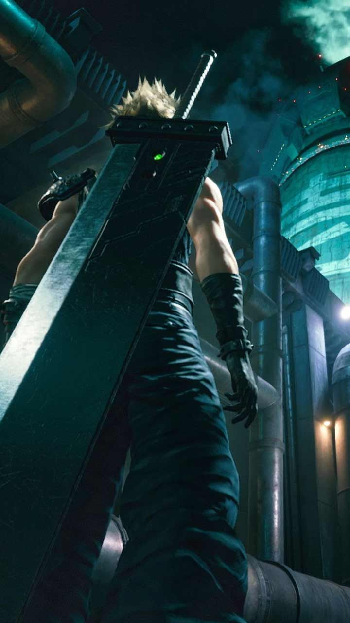 Final Fantasy 7 Remake Wallpaper Hd Phone Backgrounds Ps4 Game Art Poster Logo On Iphone Android In Final Fantasy Vii Final Fantasy Final Fantasy Vii Remake