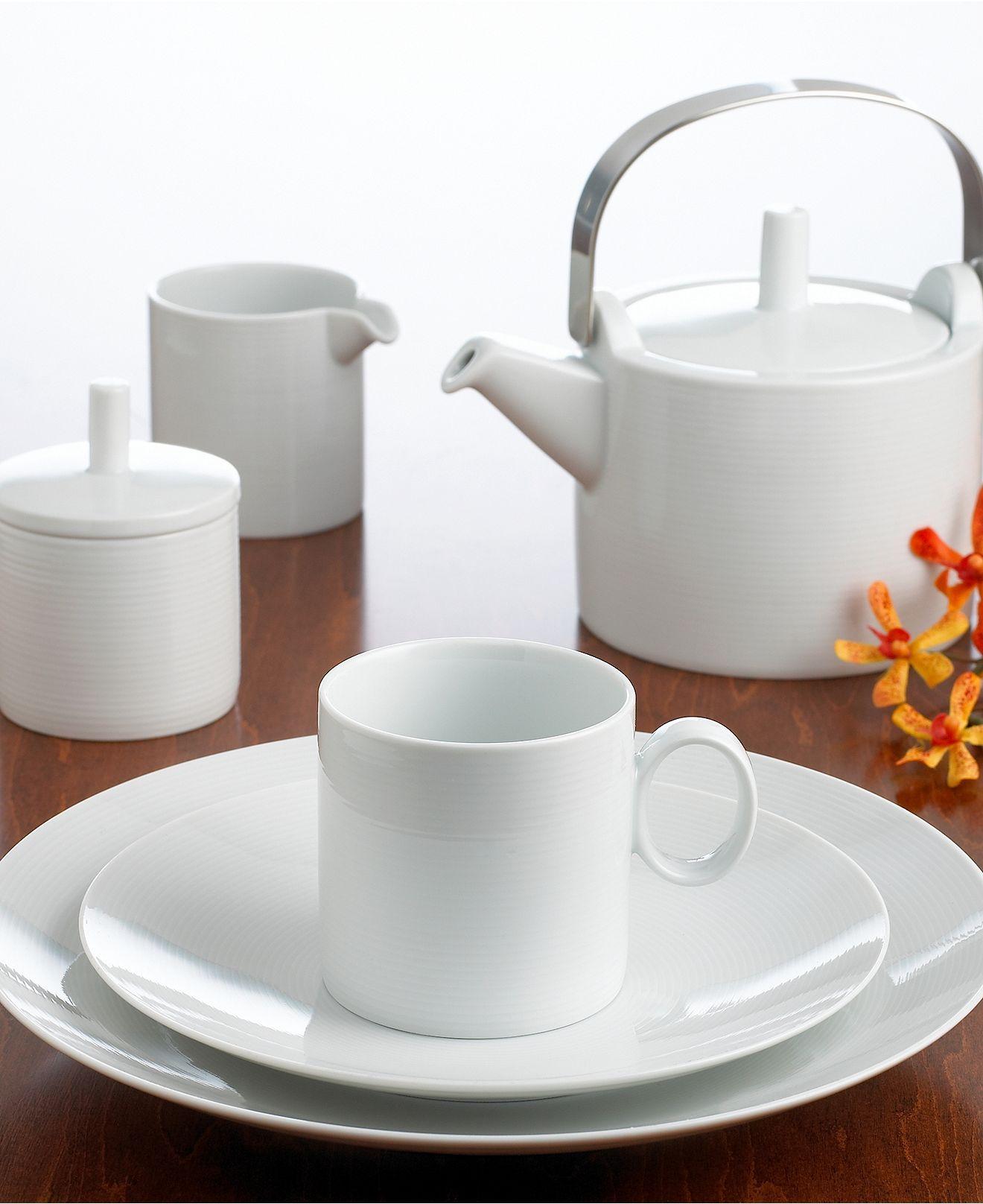 Thomas Rosenthal Loft Dinnerware Collection - Dinnerware - Dining u0026 Entertaining - Macyu0027s & Thomas Rosenthal Loft Dinnerware Collection | Dinnerware Casual ...