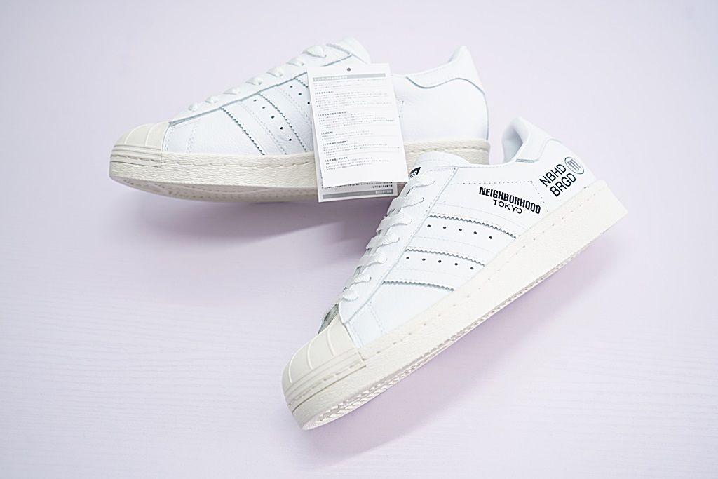 Adidas Neighborhood Superstar Leather Sneakers Online, Price
