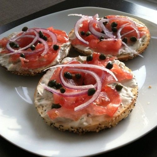 Image result for lox and bagels