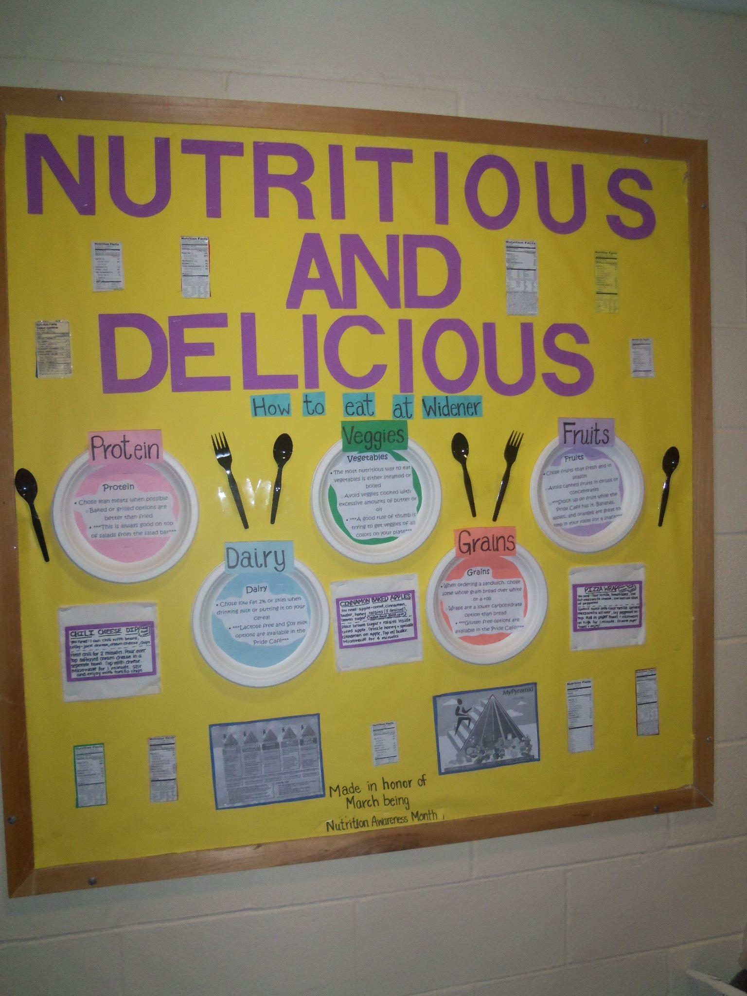 Classroom Bulletin Board Ideas Nutrition Month ~ March is nutrition month bulletin boards pinterest