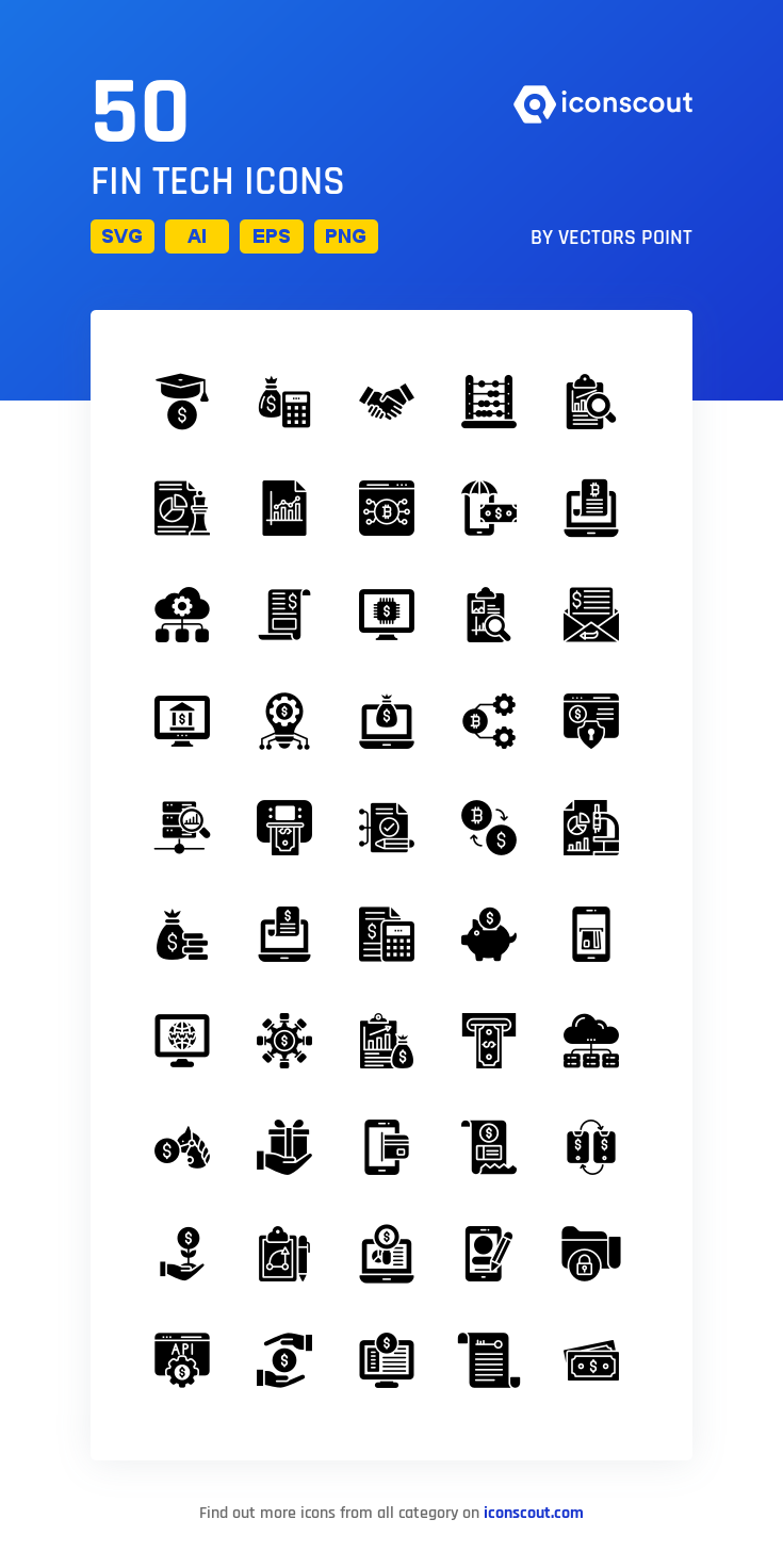 Download Fin Tech Icon Pack Available In Svg Png Eps Ai Icon Fonts Icon Pack Icon Shop Icon