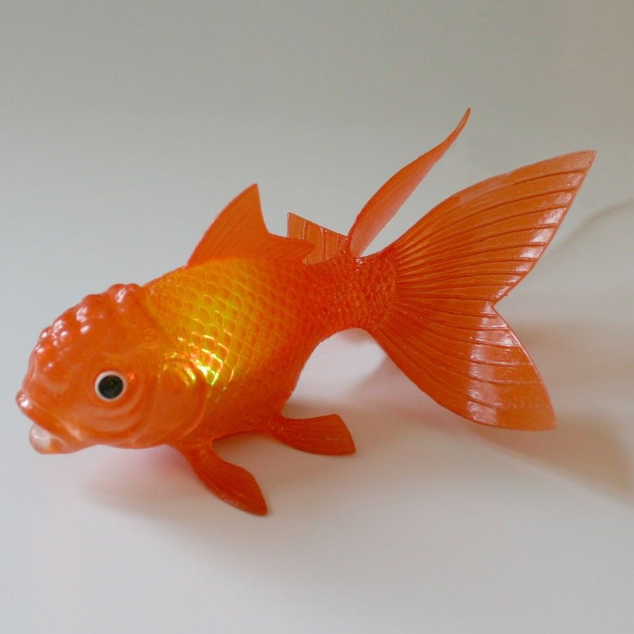 Floating, color changing, gold fish lights. Would be really cute in ...