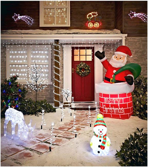 outdoor christmas decorations Home Ideas Pinterest - outdoor snowman christmas decorations