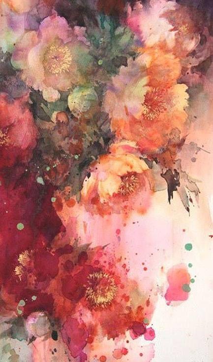 Art by Yuko Nagayama   love LoVe LOVE en 2018   Pinterest   Acuarela ...