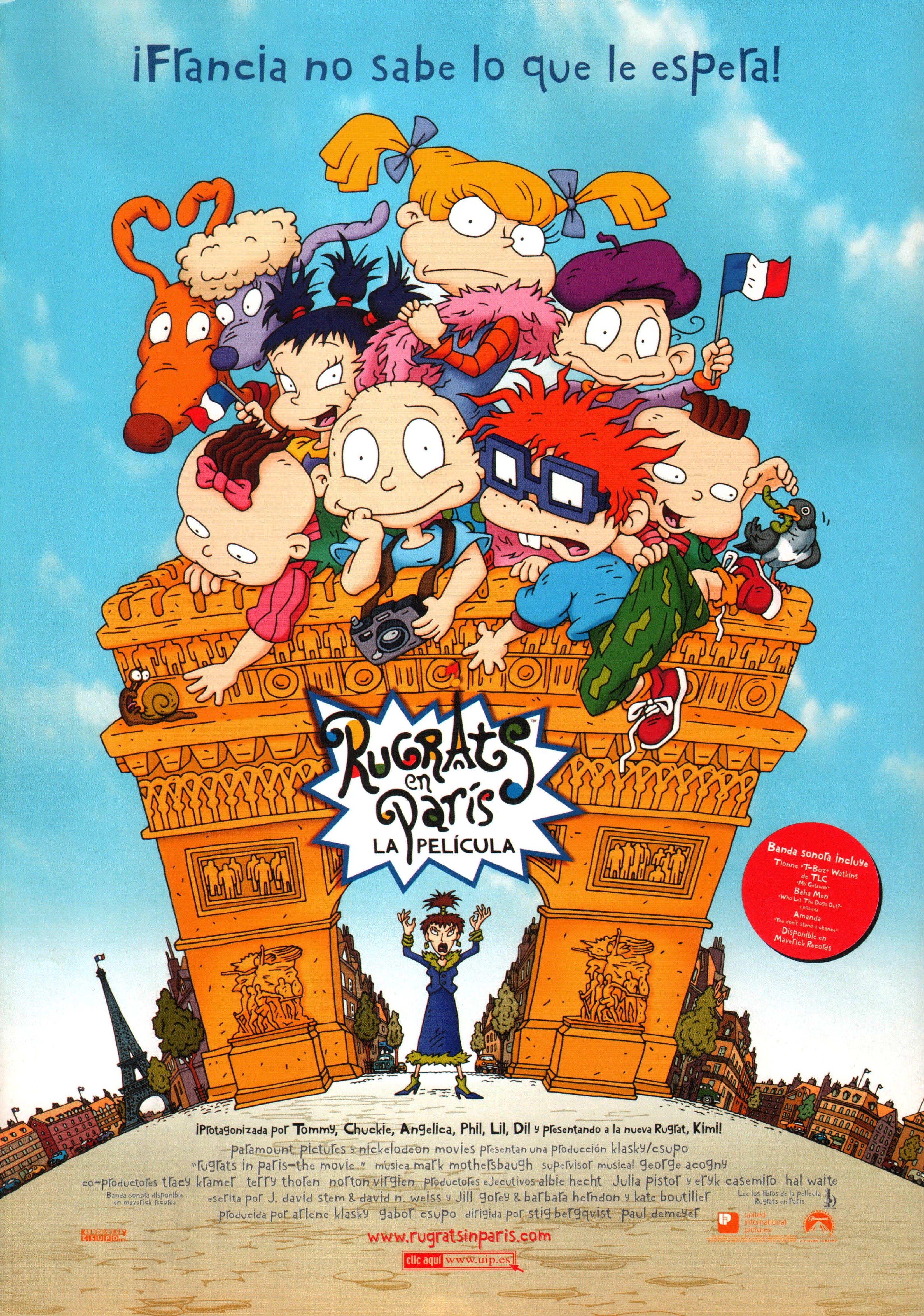 Rugrats en París la película Rugrats, Imágenes para