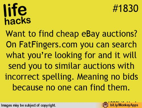 Looking For Cheap Ebay Auctions Life Hacks 1000 Life Hacks Useful Life Hacks