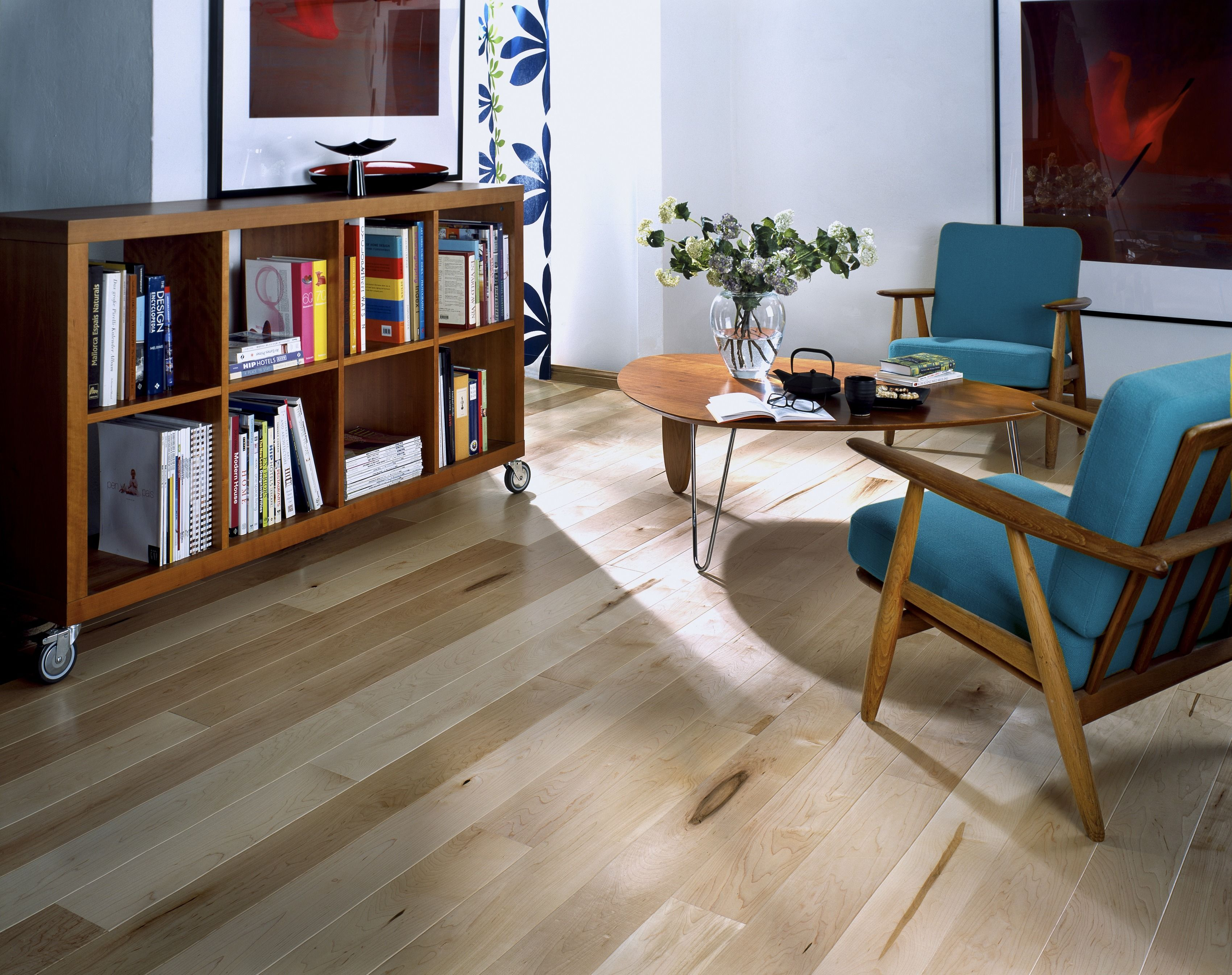 Maple #Hardwood Flooring From The American Naturals Collection