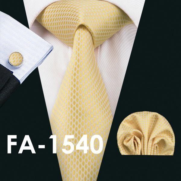 Tie cufflink and hanky hankerchief set stylish fashion mens gift party wedding