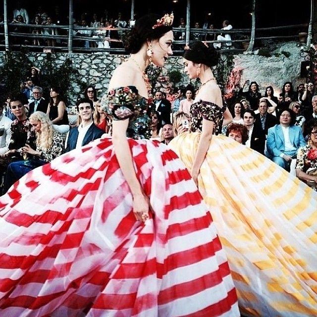 Dolce & Gabbana Alta Moda Inverno 15 | Capri
