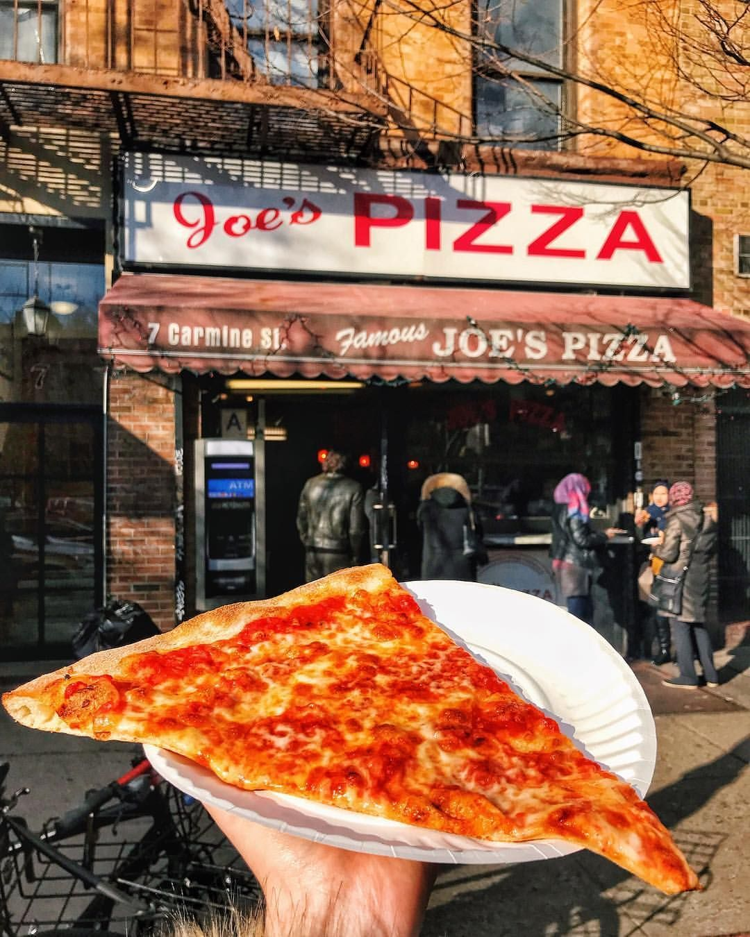 Travel New York City On Instagram Nyc Has A Pizza Of My Heart Rate This Slice From 1 10 Tabithael New York Pizza New York Food Best Pizza In Nyc