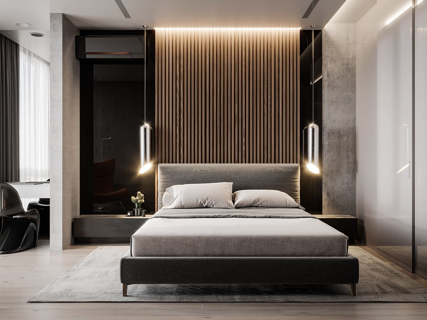 bedroom design | Quarto moderno, Quarto contemporâneo ...