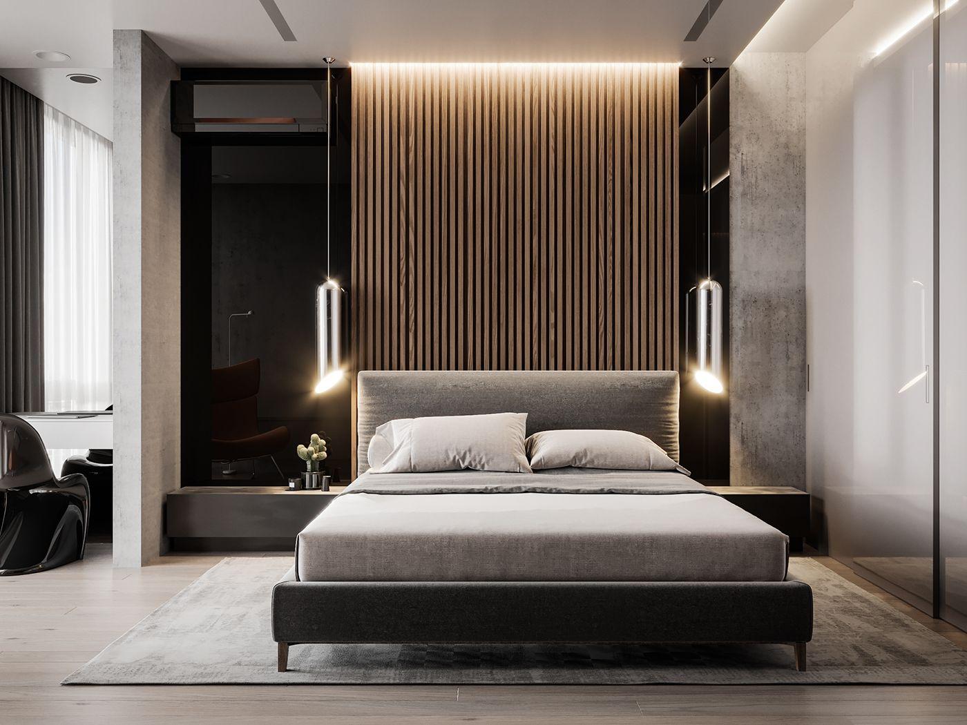 bedroom design | Quarto moderno, Quarto contemporâneo ...