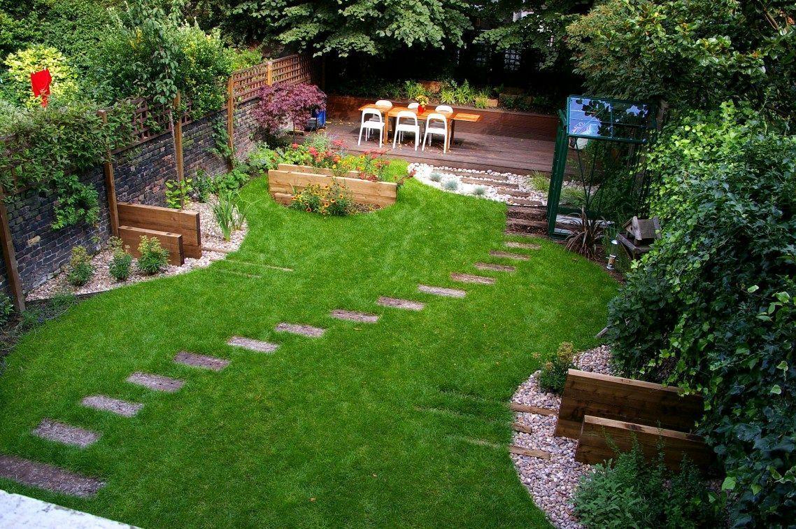 Landscaping Ideas For Front Yard Lowes Landscape Stepping Stones Walkway Landscapingideasforfrontyard