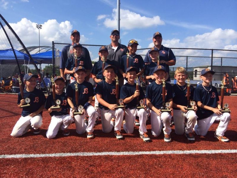 9u Bandits Champions Seminole Classic Travel Baseball Youth Travel Baseball Team