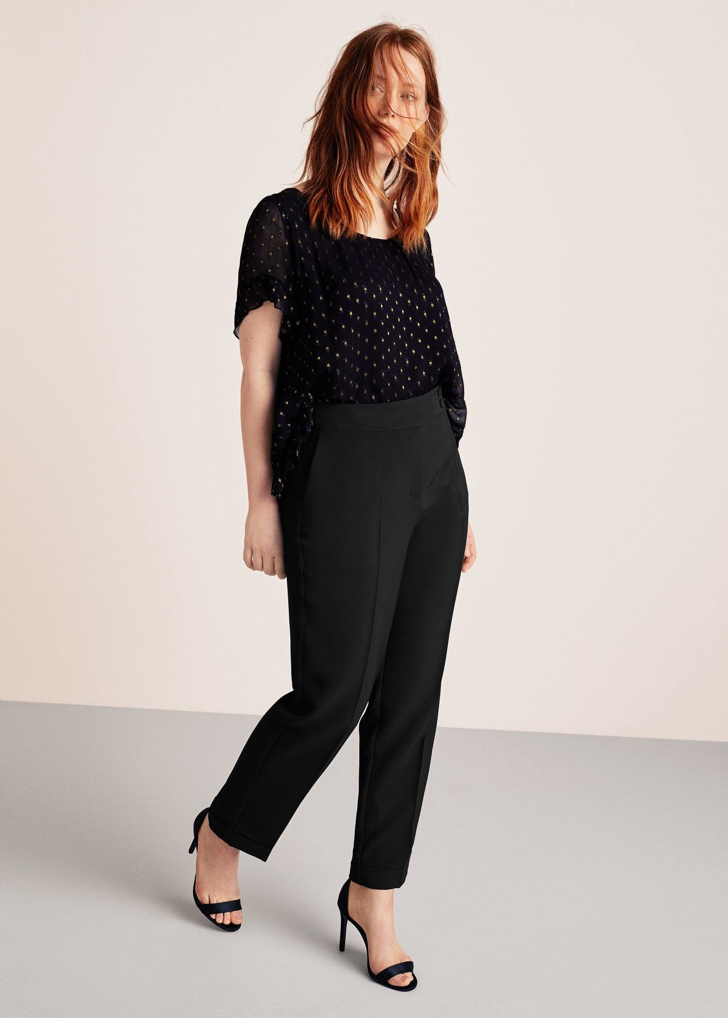 3947c825adc60 Flowy trousers by Mango in 2018   Products   Pinterest   Trousers ...