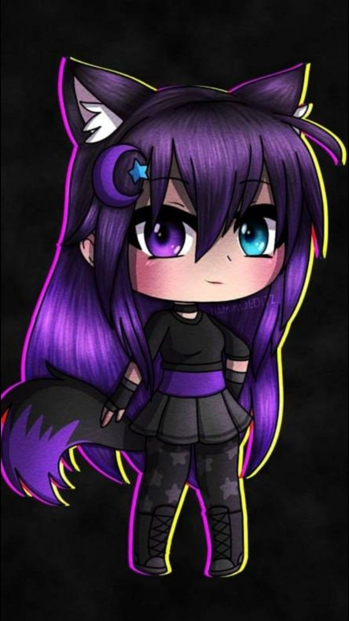The Bee Is Crazy Anime Wolf Girl Cute Anime Character Cute Anime Chibi