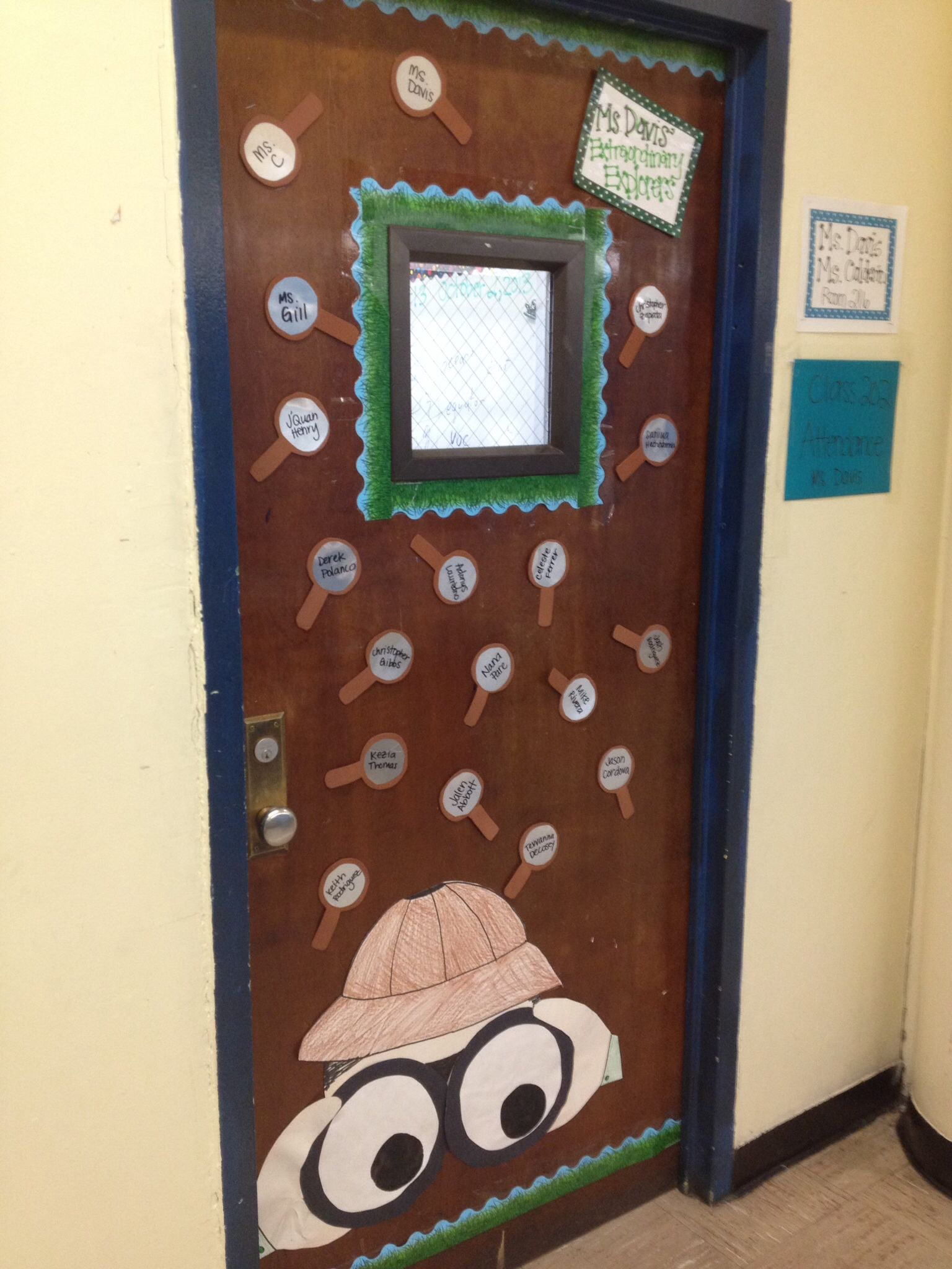 Extraordinary Explorers Theme Classroom Explorers Door