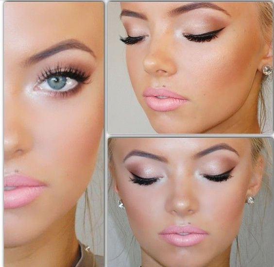 The Basic Steps For Prom Styling Are Dresses Shoes Hairstyles And Makeup There Are Some Types Of Prom D Barbie Makeup Bridal Makeup Tutorial Airbrush Makeup