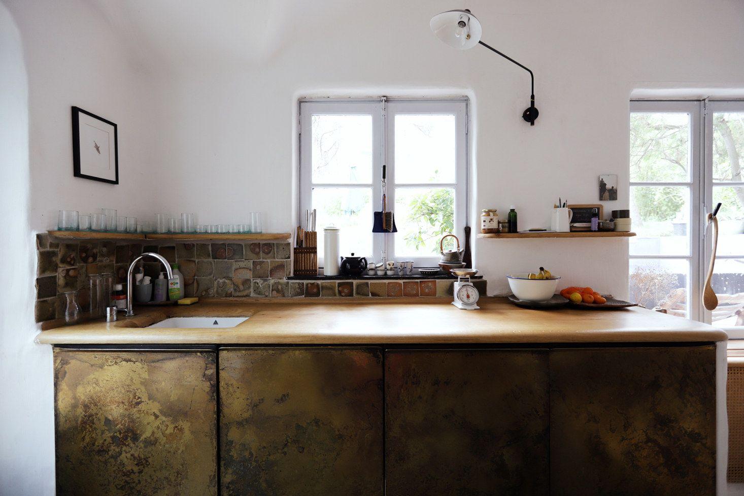 100 Percent Handmade Valentin Loellmann S Historic River House In Maastricht Remodelista Kitchen Sink Remodel Kitchen Remodel White Brick Backsplash