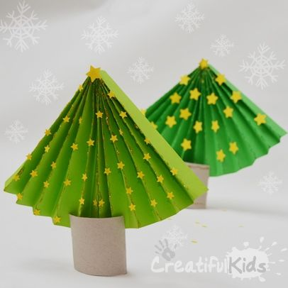 If Youre Looking For Some Simple Christmas Crafts Kids Have A Look At This Easy To Make Paper Tree What You Need
