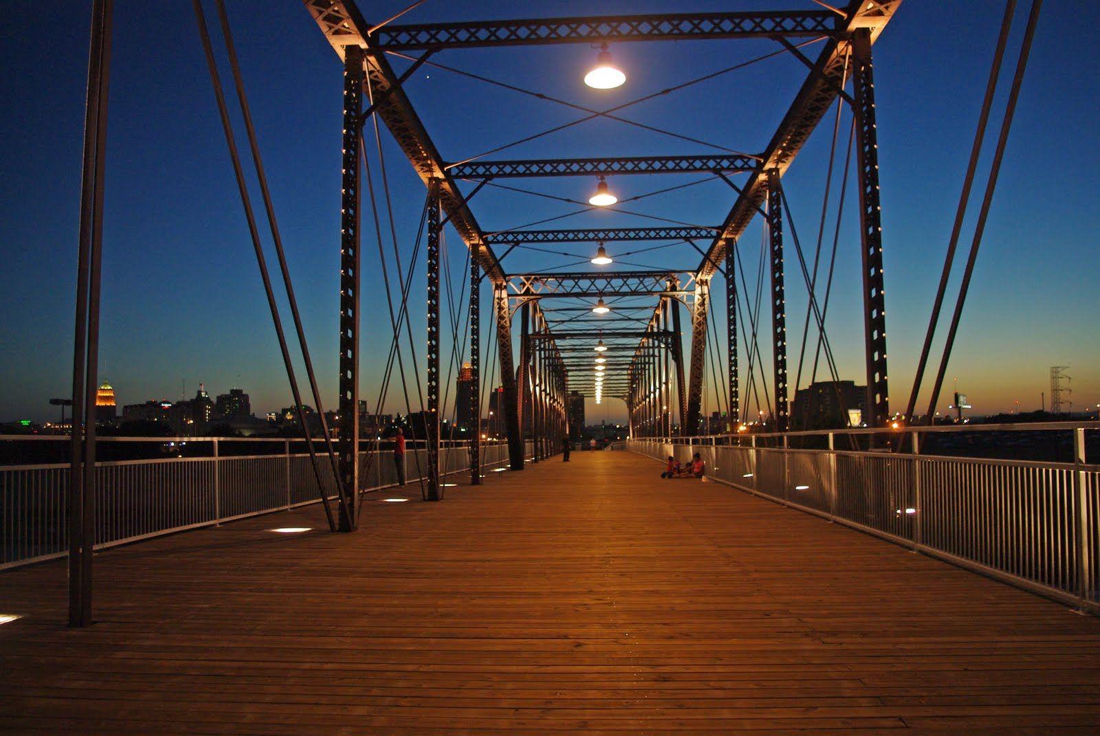 Hays Street Bridge Amazing Views And Really Nice