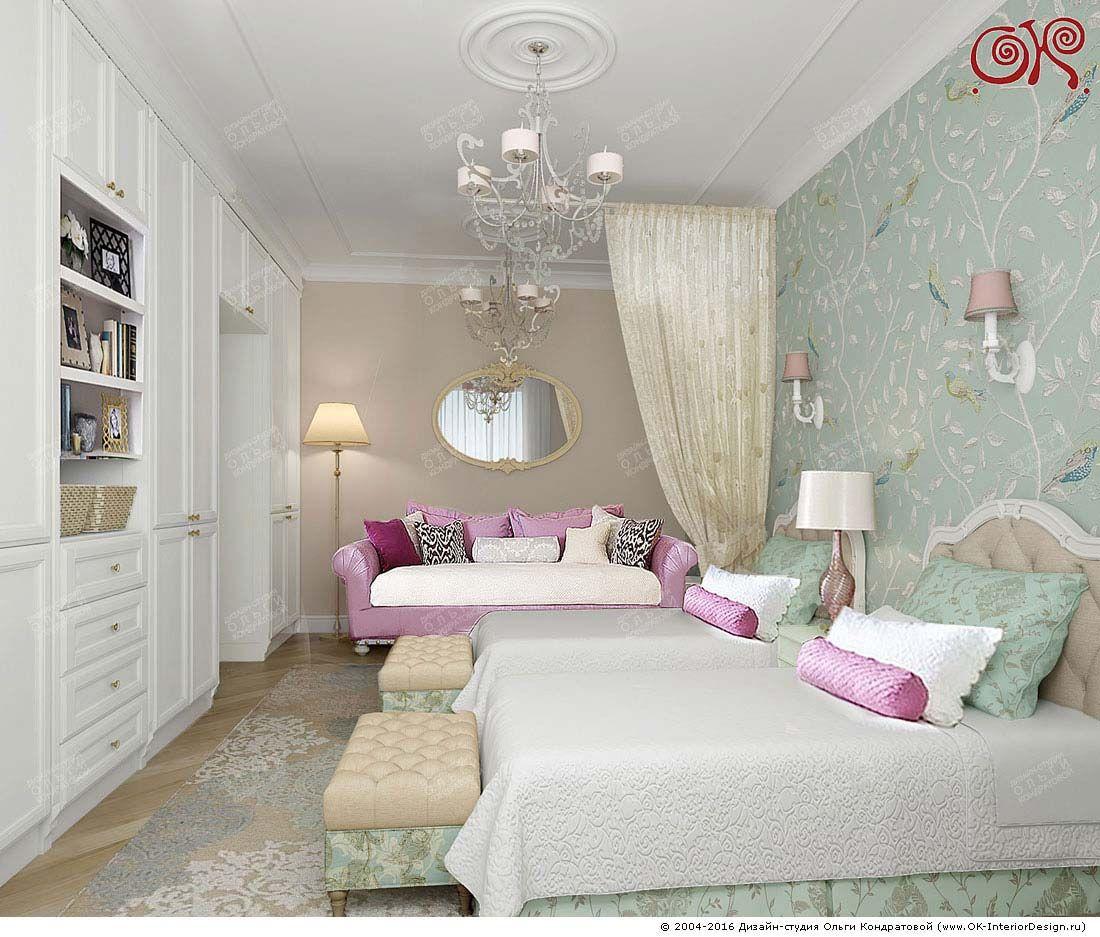 дизайн комнаты для девочки 12 лет нежные тона: 24 тыс изображений ...