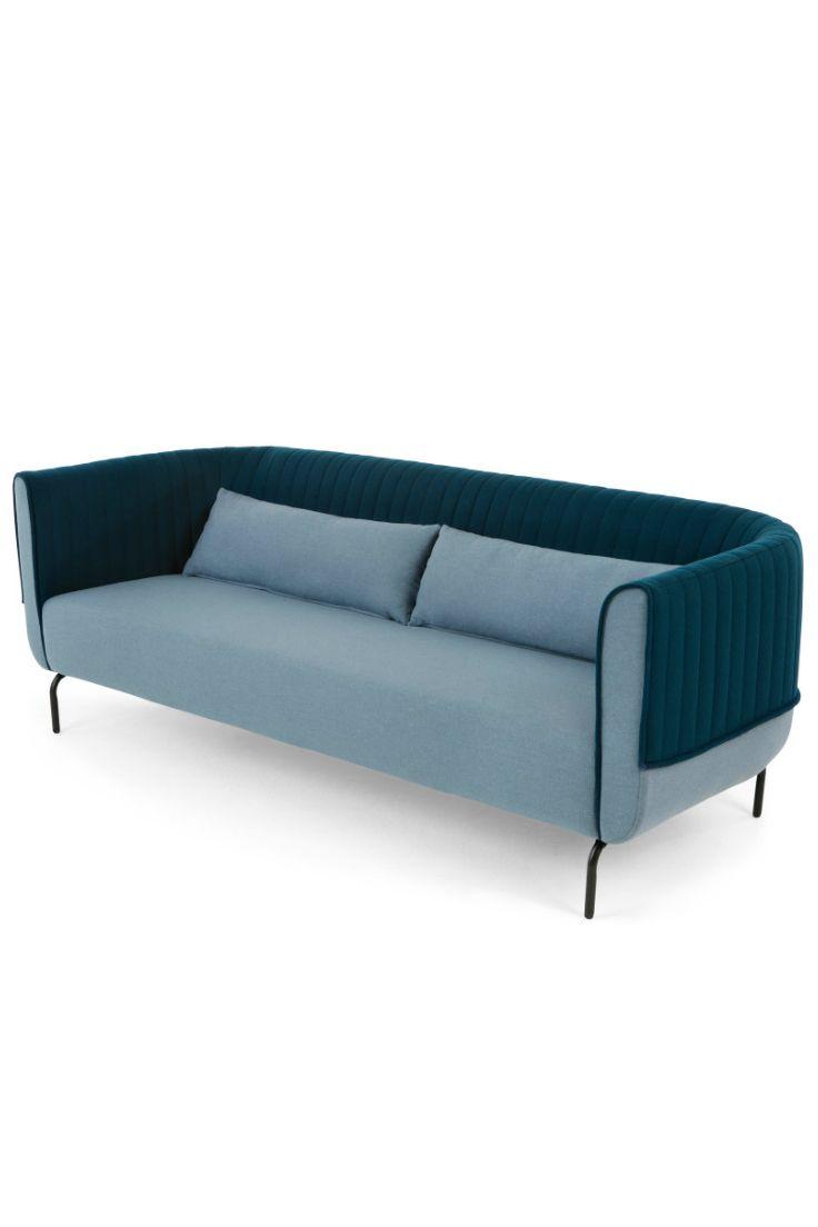 Gut Bienno 3 Sitzer Sofa In Taubenblau Und Petrolfarben. Zwei Eigenschaften  Definieren Bienno: