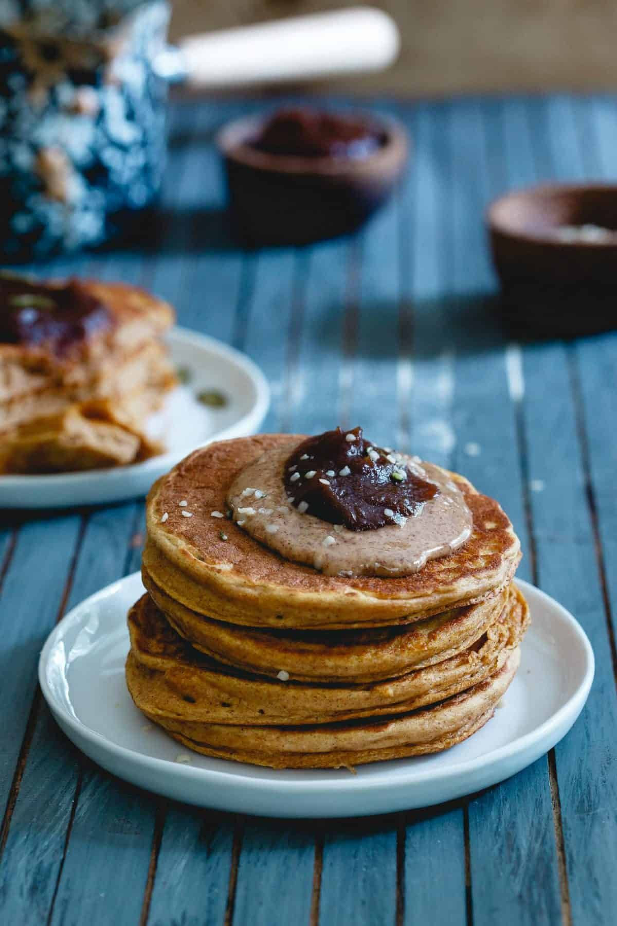 These Pumpkin Protein Pancakes Are A Simple Fall Recipe