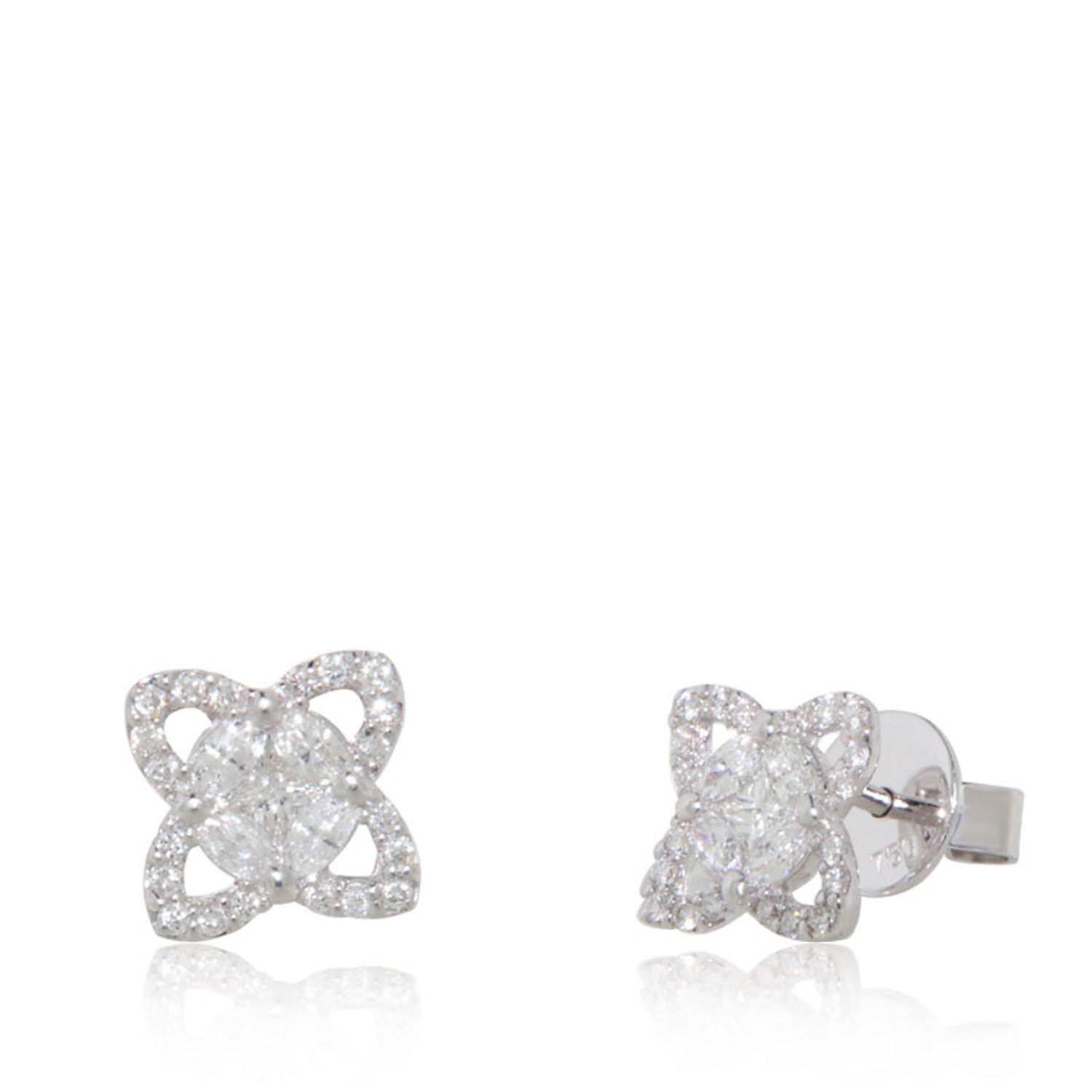 drop pear shop diamond shape rectangular earrings