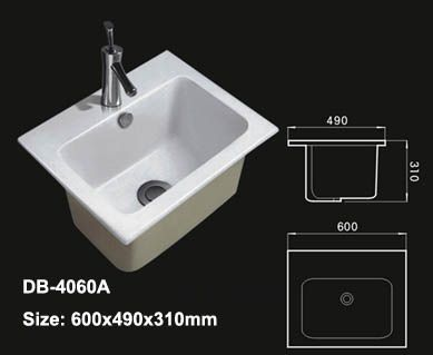 Charmant Deep Bathroom Sink. Washbasin.biz/bathroom Sink/under Counter Basin/