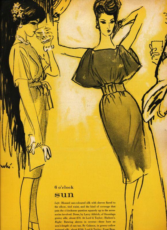 Vogue June 1959 | Винтаж | Pinterest