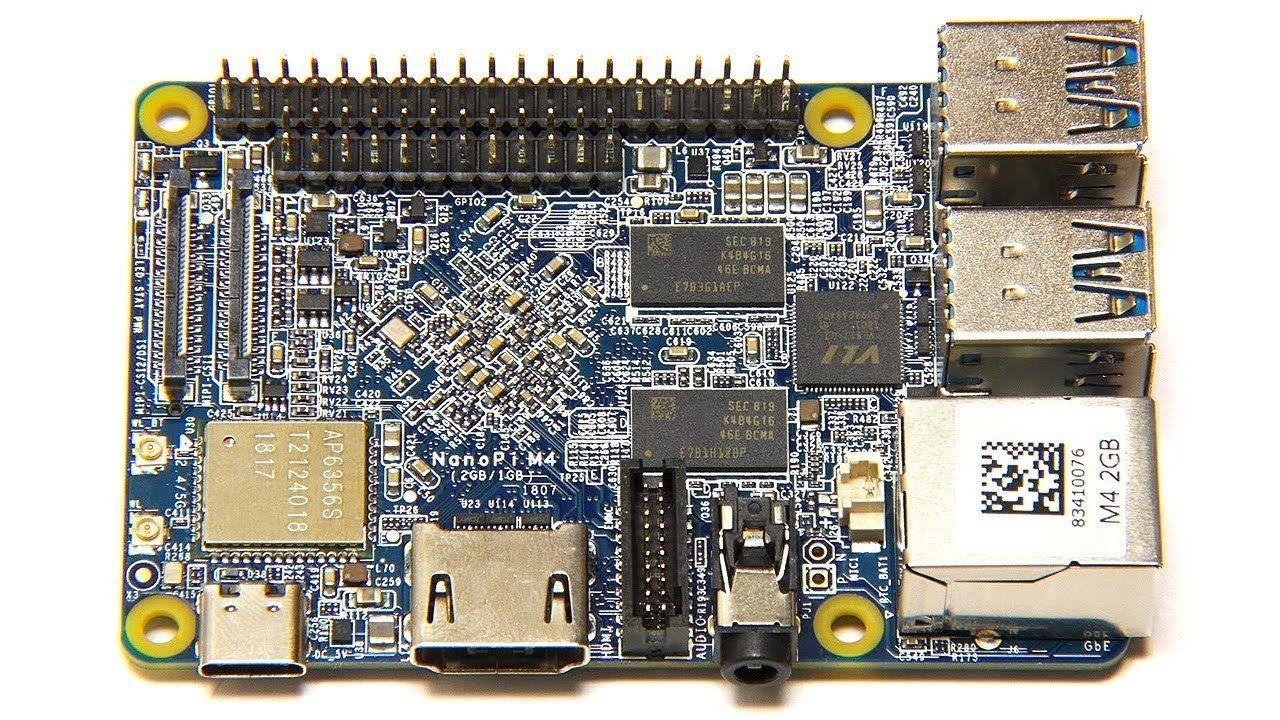 NanoPi M4 : RK3399 SBC with 4 x USB 3 0 #nanopi #rk3399