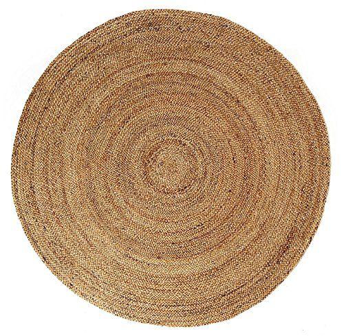 Cheap Anji Mountain Braided Round Area Rug 4 Natural