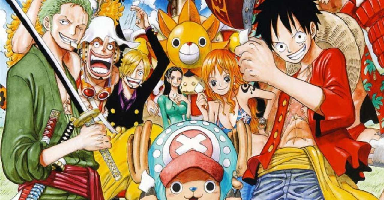 One Piece Unveils New Straw Hats Statues In Creator S Hometown One Piece Wallpaper Iphone One Piece Anime One Piece Manga
