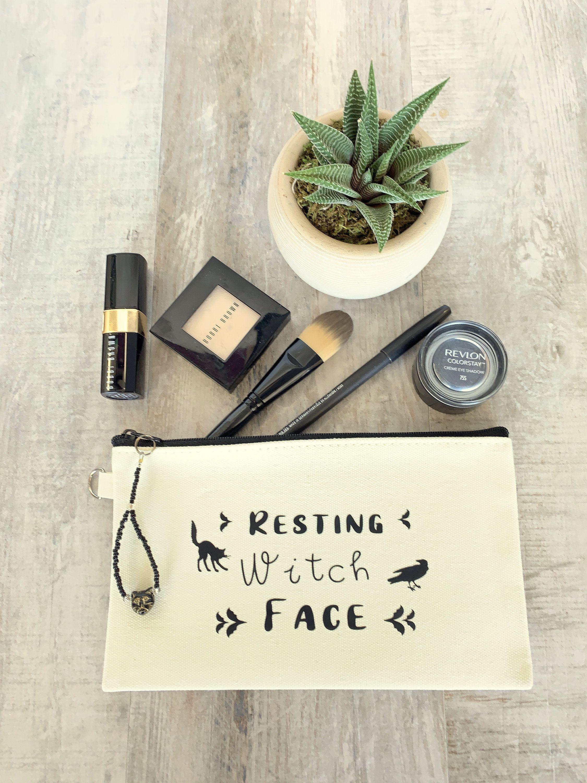 Funny Halloween Makeup bag Funny Makeup Bag Saying