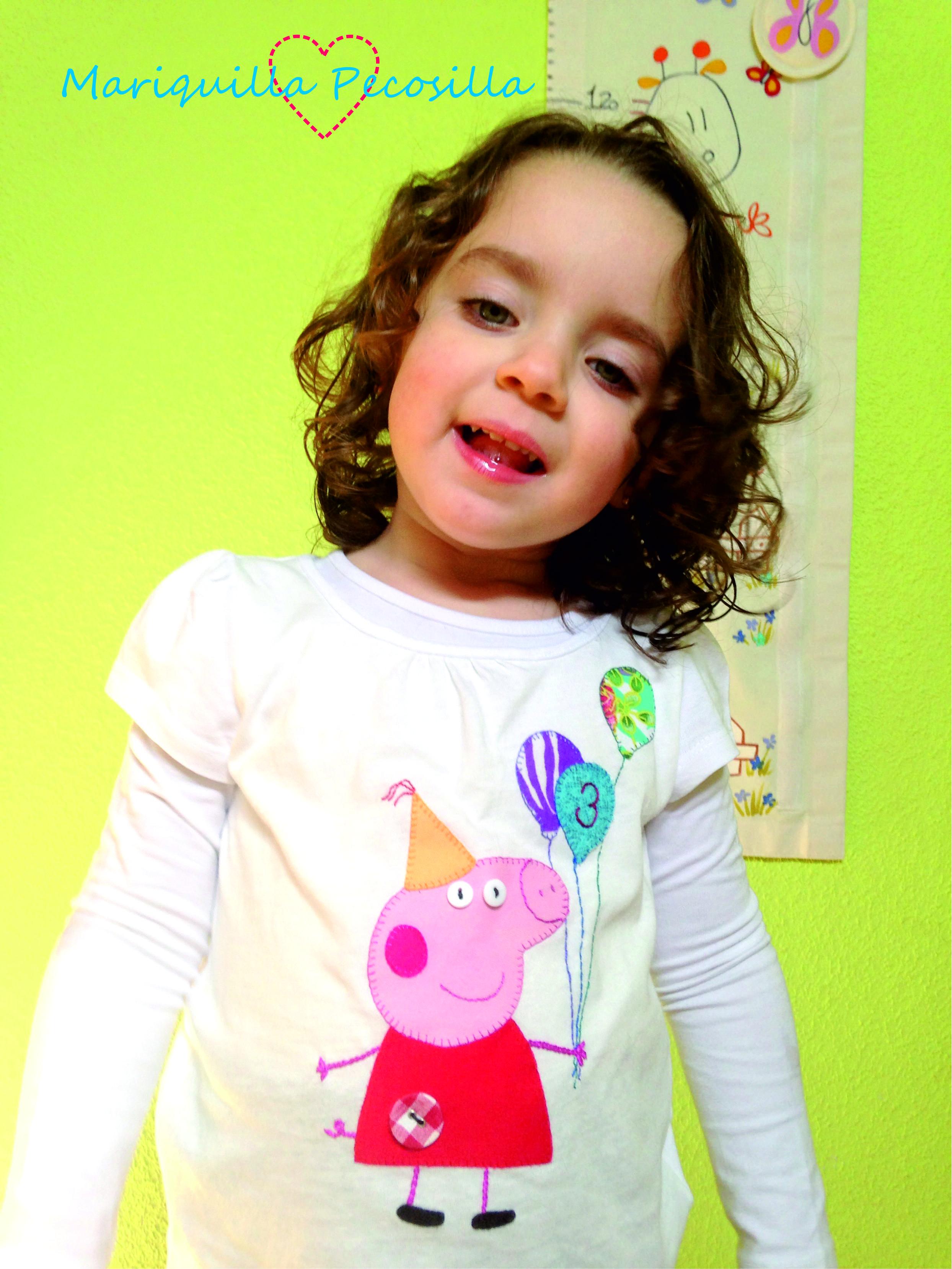 Camiseta Peppa Pig Fiesta