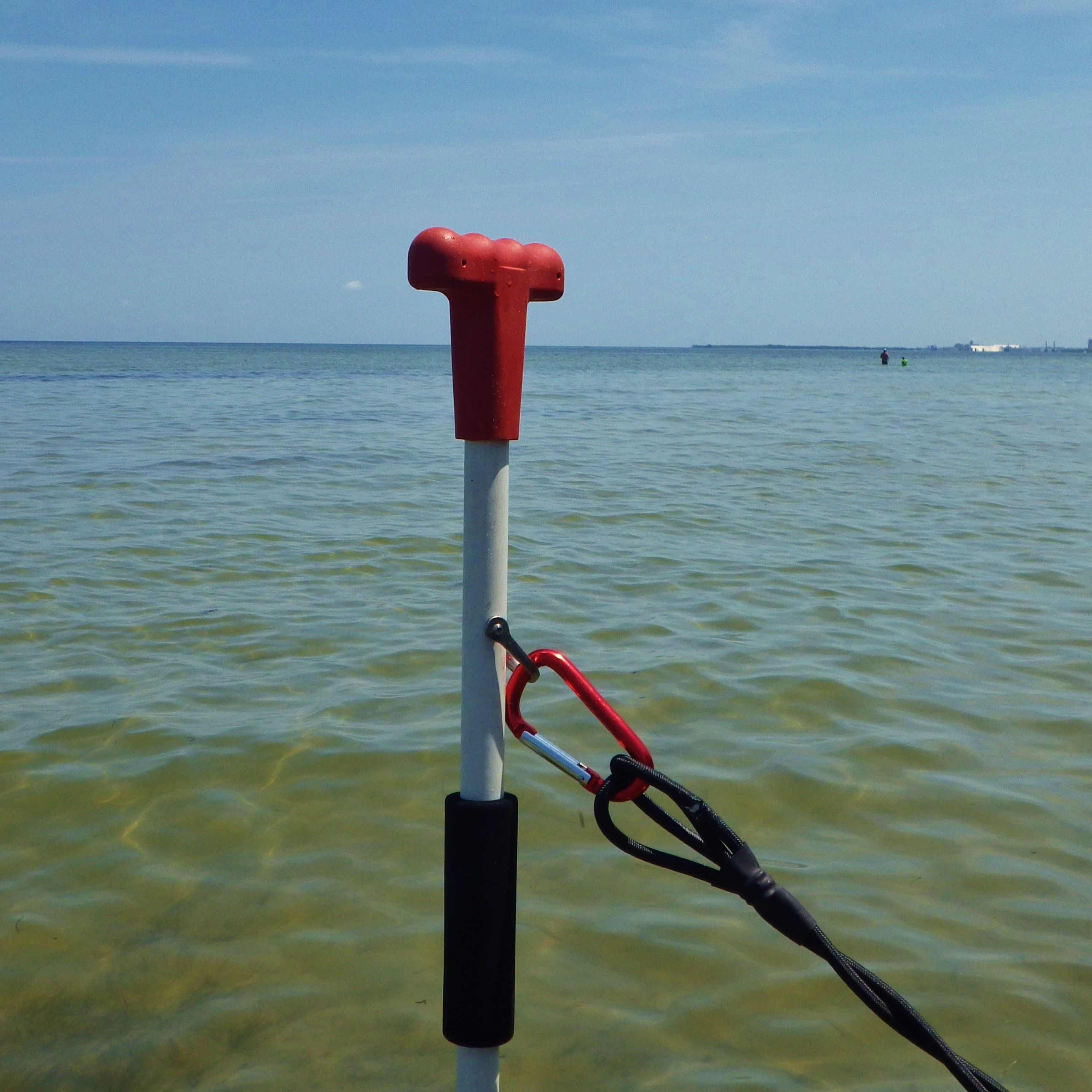 Anchoring in shallow water tired of dealing with lost for Fishing kayak anchor