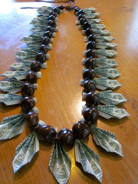 Money Lei Reserved for T. Peterson | to make - gifts ...