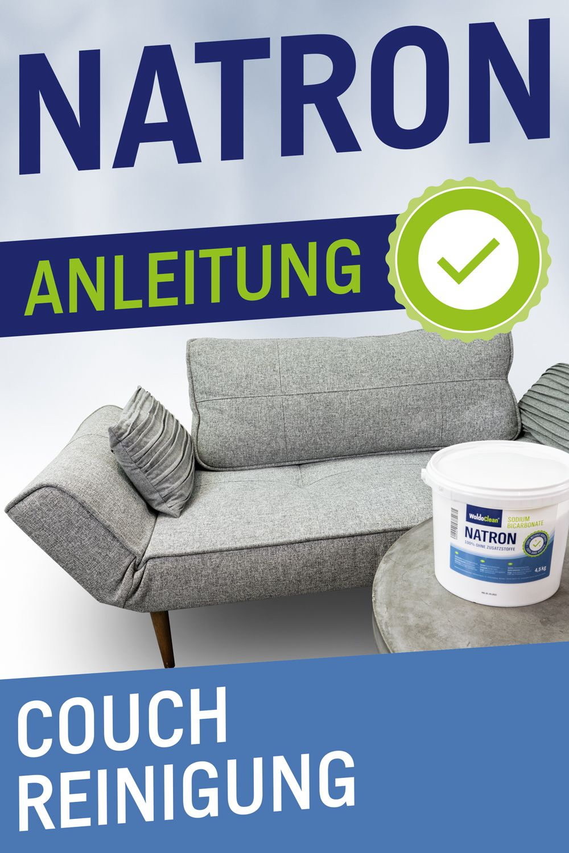 Mit Natron Die Couch Reinigen Sofa Reinigen Natron