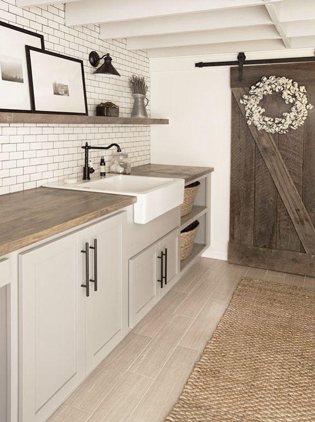 Inspiración para cuartos de lavado y plancha | Estilo Escandinavo ...